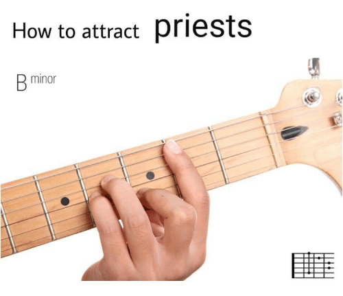How To, How, and  Priests: How to attract priests  minor