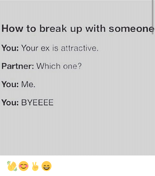 how to break up with someone you care about