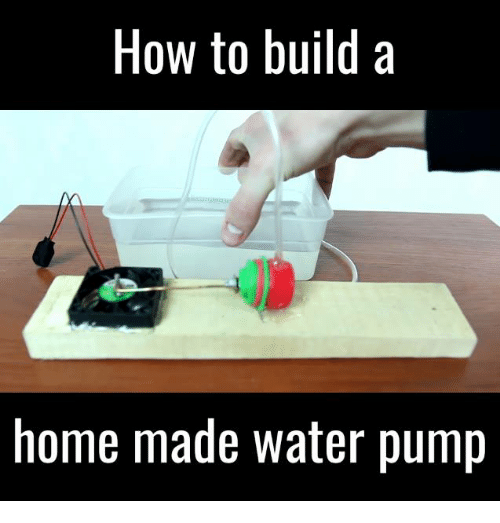 25 best water pump memes pumping memes mrgear memes for Build me a home