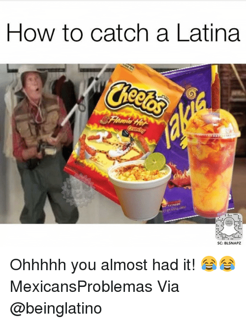 Memes, 🤖, and Via: HOW to catch a Latina  SC: BLSNAPZ Ohhhhh you almost had it! 😂😂 MexicansProblemas Via @beinglatino