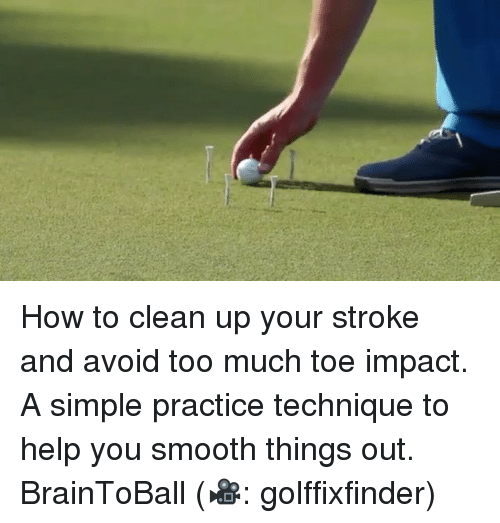 how to get your stroke game up