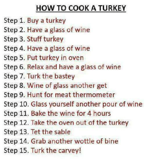 how to cook a turkey step 1 buy a turkey 25353088 how to cook a turkey step 1 buy a turkey step 2 have a glass of wine
