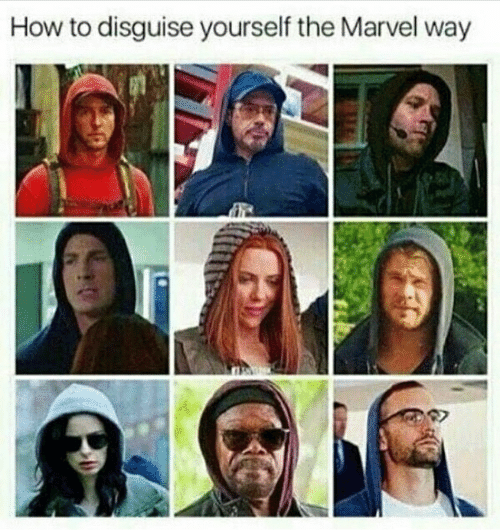 How to Disguise Yourself the Marvel Way | How to Meme on ME ME