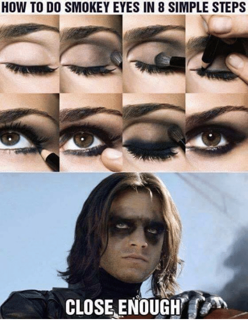how to do smokey eyes in 8 simple steps close 8913260 how to do smokey eyes in 8 simple steps close enough meme on me me