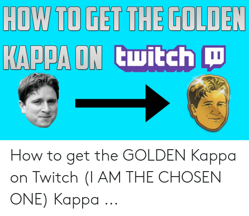 taniej ograniczona guantity super promocje HOW TO GET THE GOLDEN KAPPA ON Twitch How to Get the GOLDEN ...