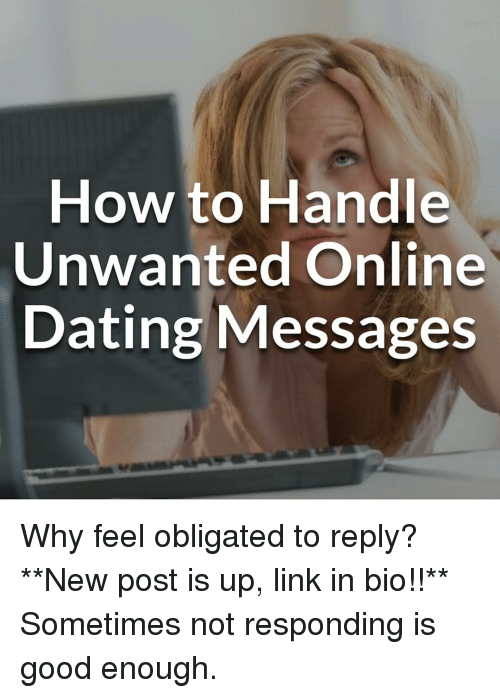 how long to reply online dating