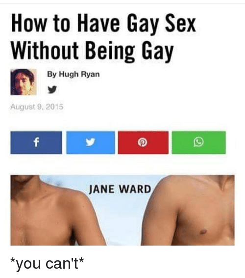 How to have a gay sex