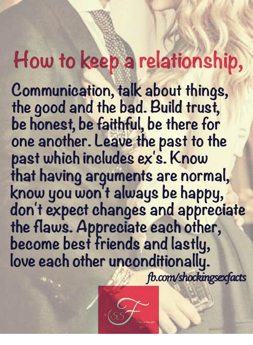 Things to do to have a good relationship