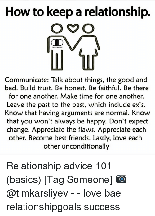 How to have a relationship talk