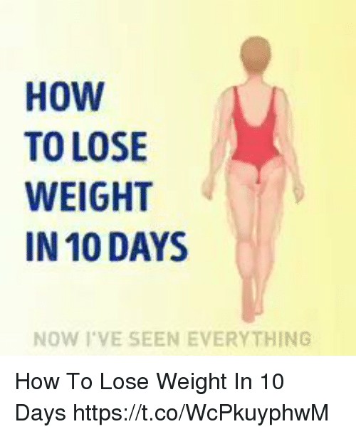 What should i do to lose weight yahoo answers