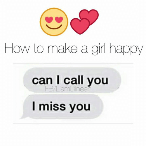 How To Make A Girl Happy