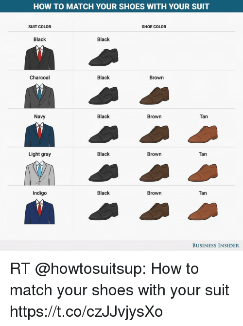 Memes Shoes And Black How To Match Your With Suit Shoe
