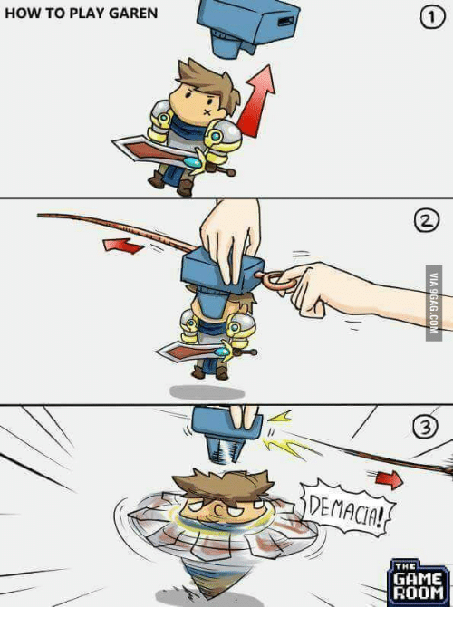 how to play against garen