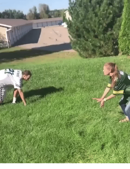 Funny, Nfl, and How To: How to sack a quarterback in the NFL nowadays.