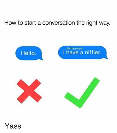 How To Start A Conversation Without Saying Hi