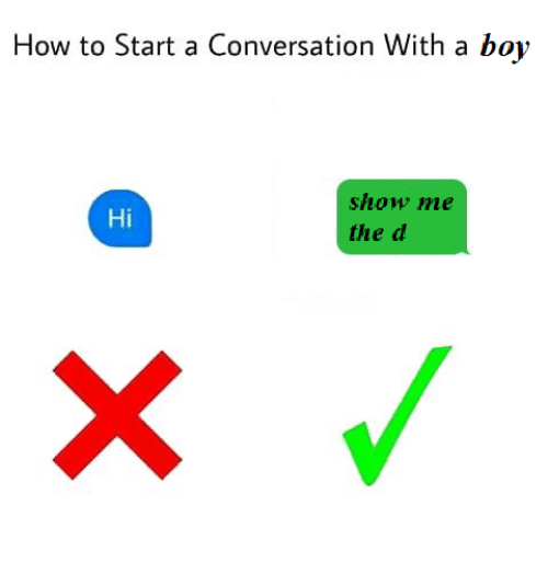 how to start a conversation with a boy