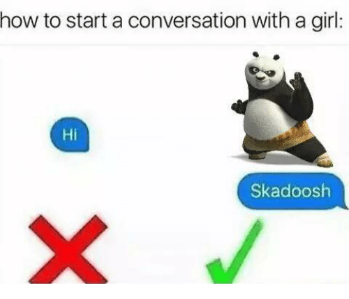 how to start a great conversation with a girl