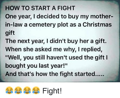 christmas memes and how to how to start a fight one year
