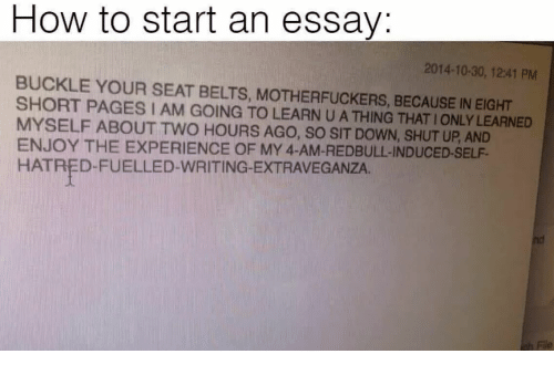 how to write an essay about your self husband