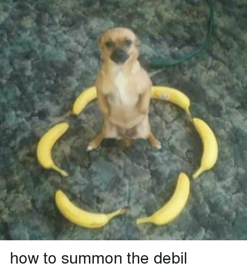 Memes, How To, and 🤖: how to summon the debil