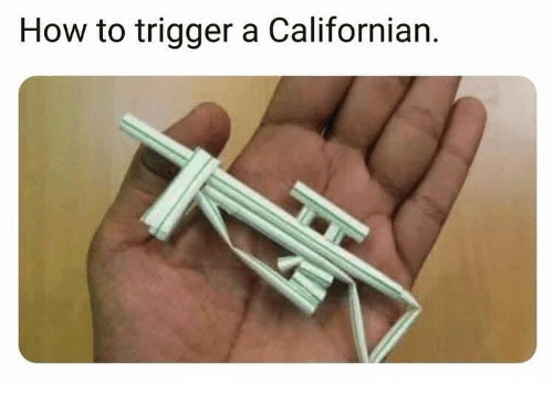 Memes, How To, and Californian: How to trigger a Californian.