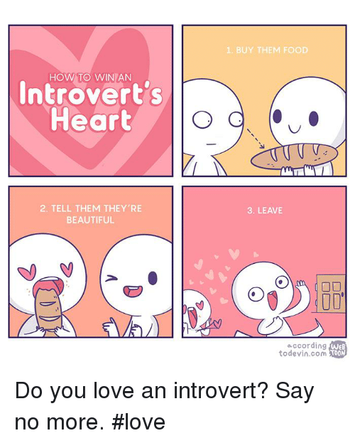 how to show an introvert you love them