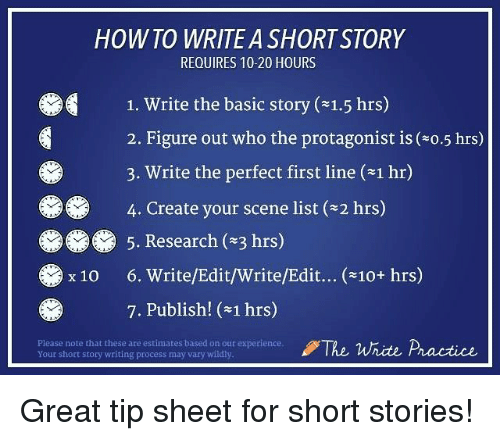 how to write a great essay x story