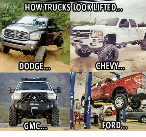 how trucks look lifted dodge chevm ford 27754802 how trucks look lifted dodge chevm ford meme on me me