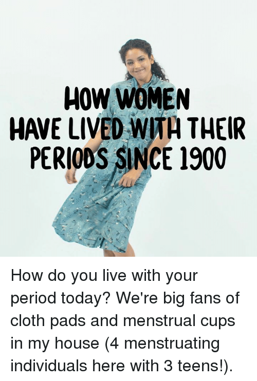 Brilliant phrase Teens on their period with