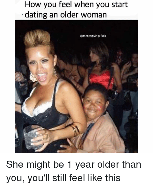 benefit of dating an older woman