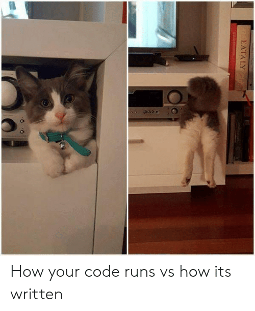How, Code, and Your: How your code runs vs how its written