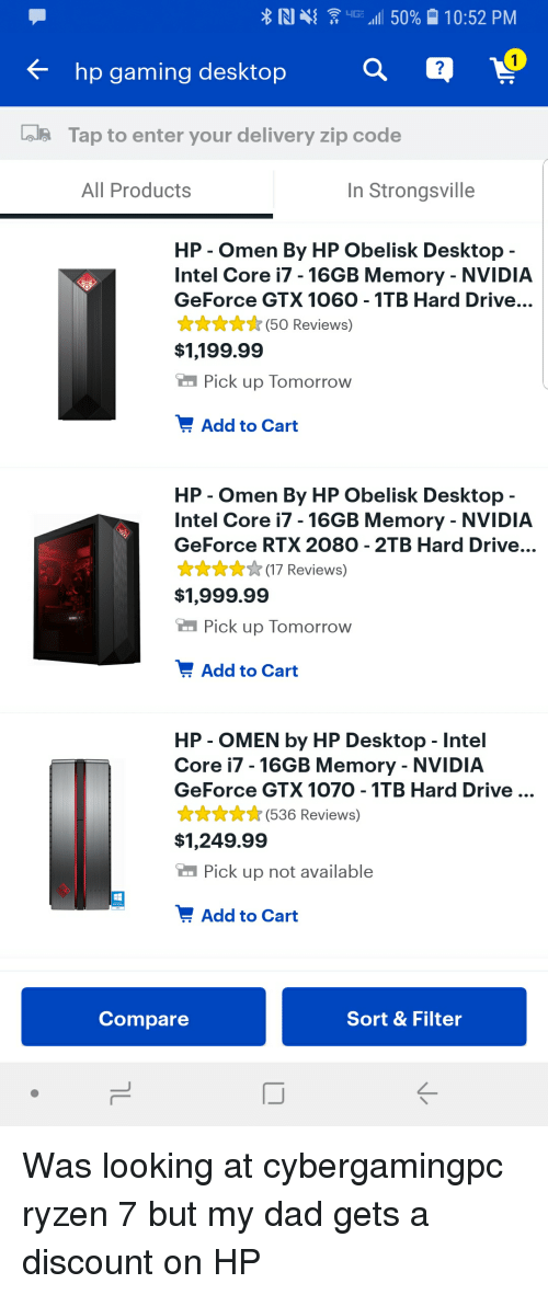Hp Gaming Desktop Tap to Enter Your Delivery Zip Code All