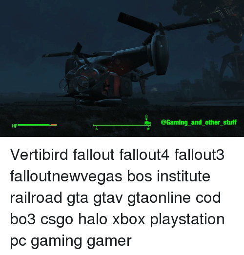 fallout 4 how to use vertibird