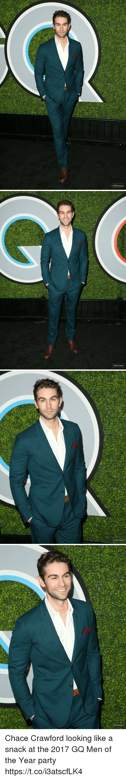 Memes, Party, and Chace Crawford: HQcelebs   Hocelebs   HQCelebs   HQCelebs Chace Crawford looking like a snack at the 2017 GQ Men of the Year party https://t.co/i3atscfLK4
