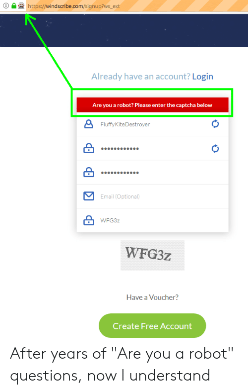 Httpwindscribecomsignup?ws_ext Already Have an Account