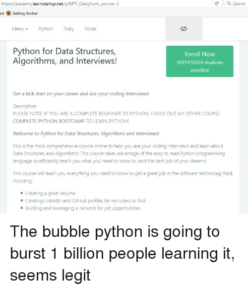 25  best memes about python programming