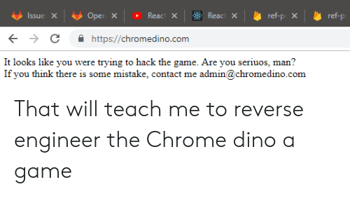 Httpschromedinocom It Looks Like You Were Trying to Hack the