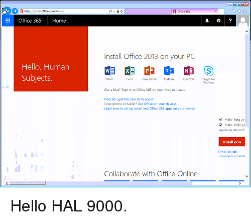 portaloffice 365 login