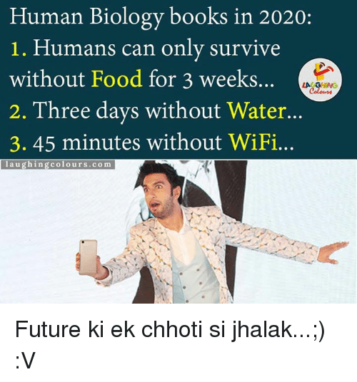 Human Biology Books In 2020 1 Humans Can Only Survive Without Food