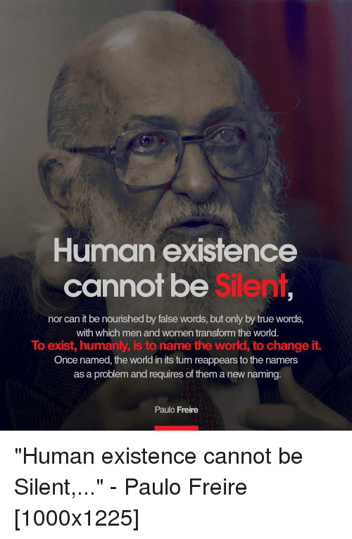human existence
