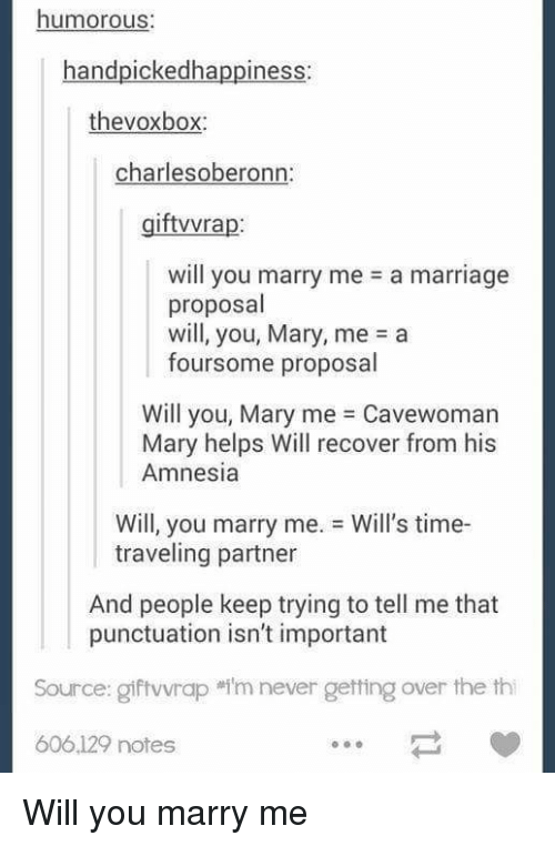 Jokes Marriage Tumblr And Help Humorous Handpickedhappiness Thevoxbox Charles Oberonn Iftvvra Will You The Cosmic Teapot Wordpresscom Humorous Handpickedhappiness Thevoxbox Charles Oberonn Iftvvra Will