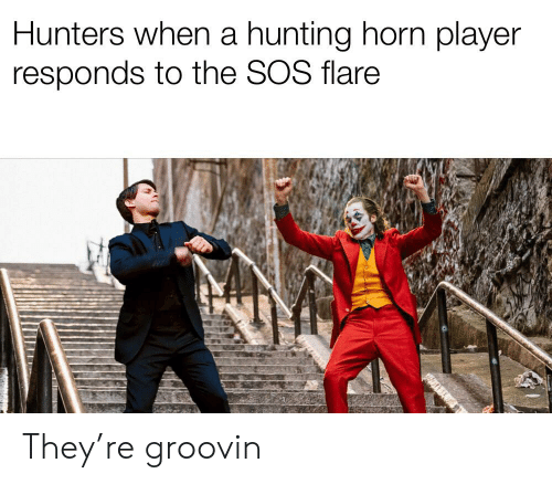 Hunters When A Hunting Horn Player Responds To The Sos Flare They