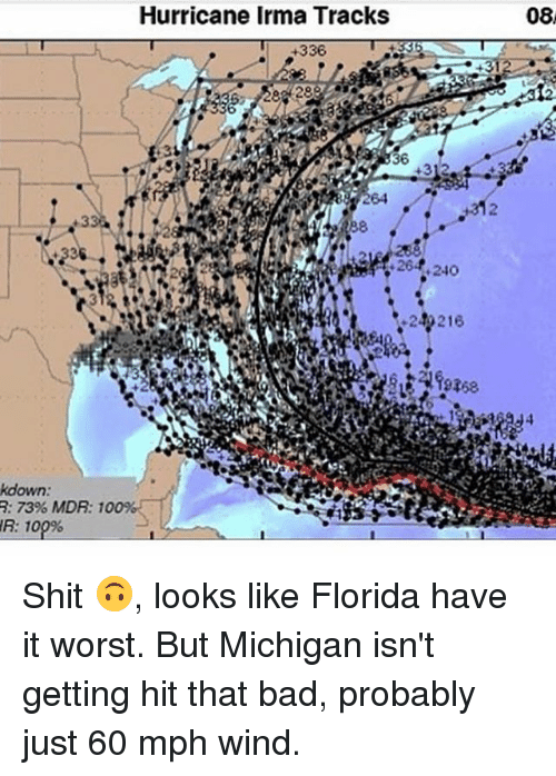 hurricane irma tracks 08 336 kdown 73 mdr 27509341 ✅ 25 best memes about michigan michigan memes