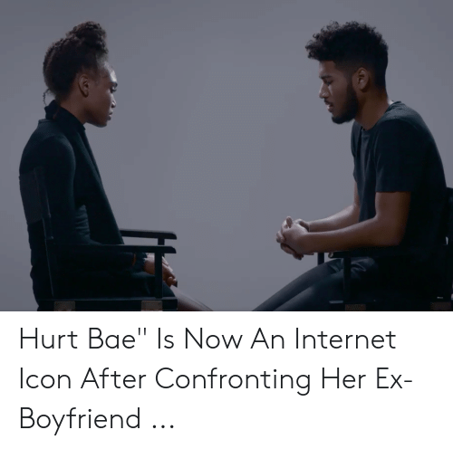 Hurt Bae Is Now an Internet Icon After Confronting Her Ex