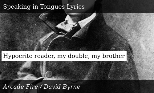 Hypocrite Reader My Double My Brother | Donald Trump Meme on ME ME