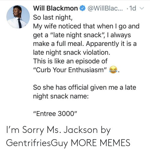 Dank, Memes, and Ms. Jackson: I'm Sorry Ms. Jackson by GentrifriesGuy MORE MEMES