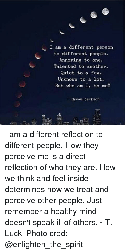 how people perceive others