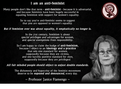 feminism an argument or success Hence this list of 10 winning arguments against feminism it's perfect for any cocktail party, liberal arts classroom, holiday dinner, or reunion date with you'll notice that before making an argument, the authors apologize for being straight, white, able-bodied, etc feeling shame for one's existence or.