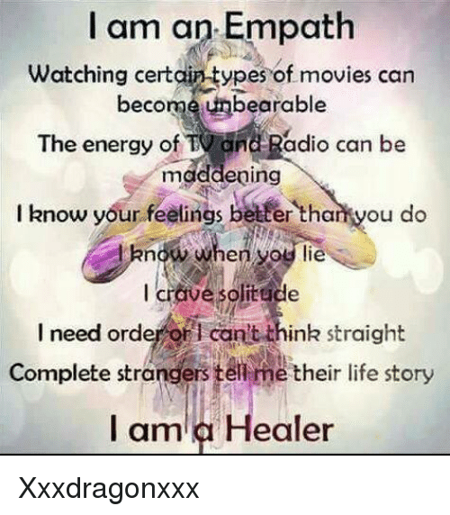 I Am an Empath Watching Certain-Types of Movies Can Become