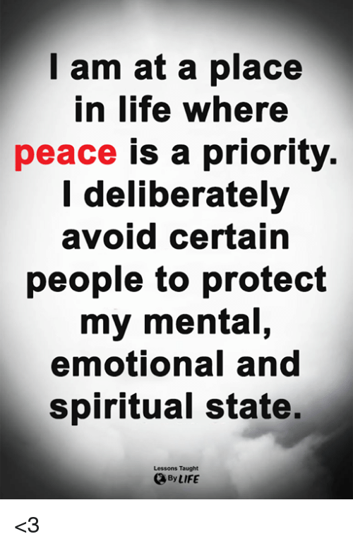 peace it does not mean to be in a place poster